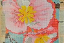 hitesh-natalwala-begoniasemperflorens-2011-gouche-on-collage-on-digital-print-106-x-86cm-framed