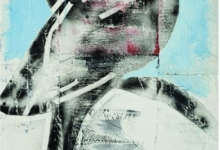 jeremy-kibel-be-with-me-2010-mixed-media-on-hand-made-paper-122-x-80cm