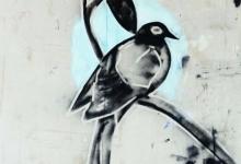 jeremy-kibel-untitled-i-2011-enamel-paint-on-tarpaulin-canvas-180-x-180cm