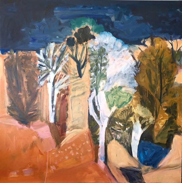 Gila Country oil on canvas 148x148cm 2017_webres