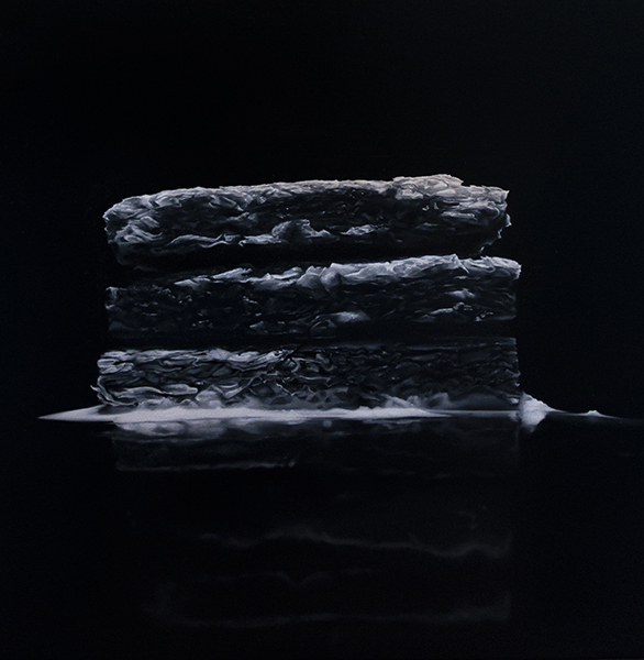 Cereal Killer, 2019<br/>oil on linen, 51 x 41 cm