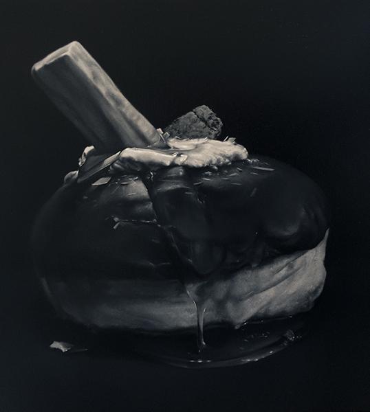 Sticky Icky, 2019<br/>oil on linen, 41 x 41 cm