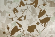 megan-keating-bindleweed-2012-pearlescent-pigment-synthetic-polymer-on-beech-panel-60-x-60cm