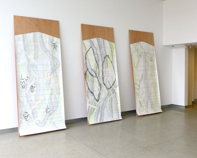'EXPERIMENTAL DRAWING BOARD #1 - 3 – INTO THE GREAT WIDE OF', 2014-15