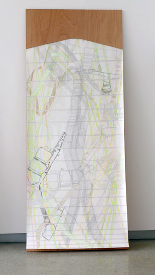 'EXPERIMENTAL DRAWING BOARD #3 – INTO THE GREAT WIDE OF', 2014-15