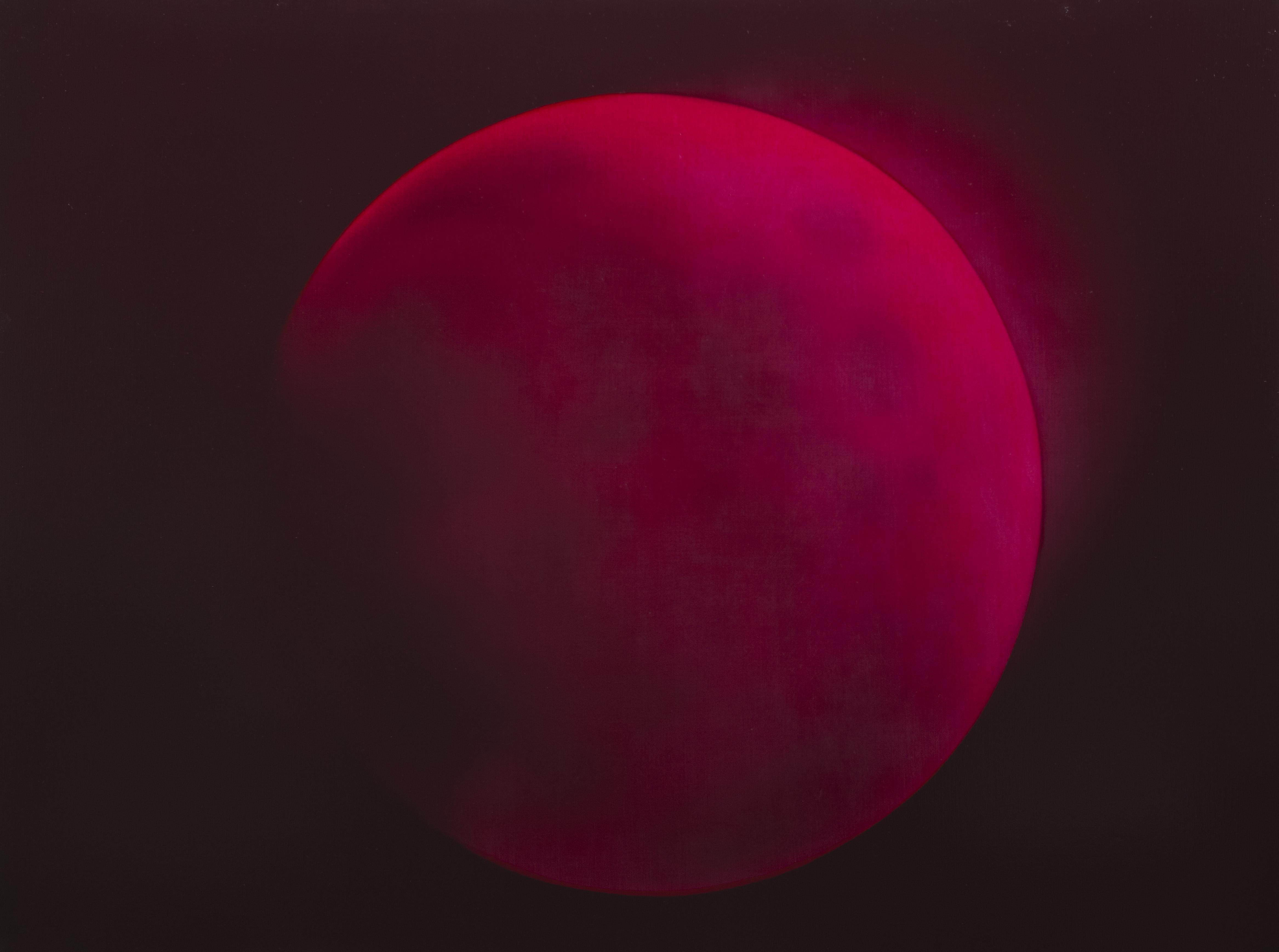 Luna Rossa, 2019 <br /> Oil on linen,91x121cm