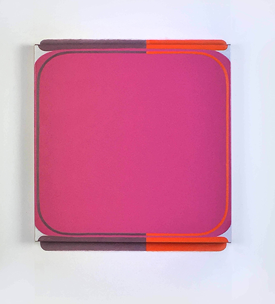 Helen Smith, After Room 3, 2017<br/> oil on canvas, 84 x 71 x 7 cm