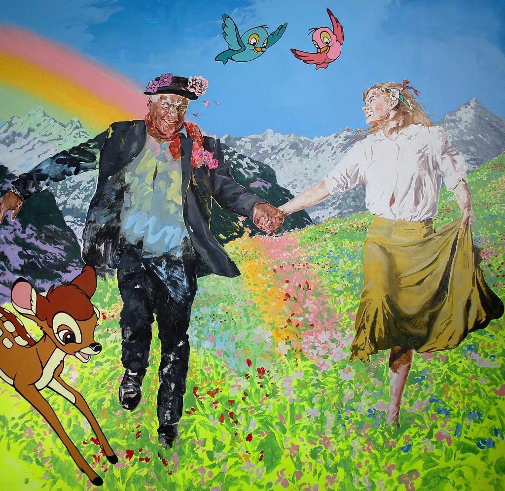 Sophia Hewson_Untitled (Richard Bell)_oil on board